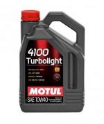 Motul Моторное масло Motul 4100 Turbolight 10W40