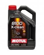 Motul Моторное масло Motul 8100 X-clean 5W-40 - C3