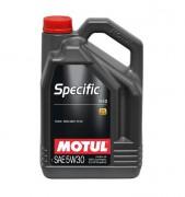 Motul Моторное масло Motul Specific 913D (Ford) 5W30
