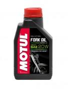 Полусинтетическое мотоциклетное масло для телескопических вилок Motul Fork Oil Expert Heavy 20W (1л)