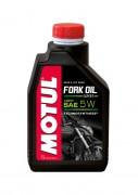 Полусинтетическое мотоциклетное масло для телескопических вилок Motul Fork Oil Expert Light 5W (1л)