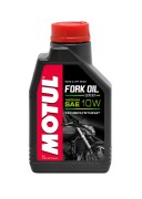 Полусинтетическое мотоциклетное масло для телескопических вилок Motul Fork Oil Expert Medium 10W (1л)