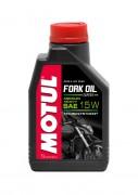 Motul Полусинтетическое мотоциклетное масло для телескопических вилок Motul Fork Oil Expert Medium/Heavy 15W (1л)