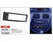 Переходная рамка Carav 11-092 Renault Megane I (1996 - 2003), Scenic (1996 - 2003), 1 DIN