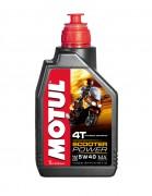 Motul Моторное масло для скутеров Motul Scooter Power 4T 5W-40 MA (1л)
