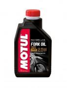 Синтетическое мотоциклетное масло для телескопических вилок Motul Fork Oil Factory Line 2,5W (1л)