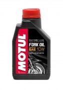 Motul Синтетическое мотоциклетное масло для телескопических вилок Motul Fork Oil Factory Line Medium 10W (1л)