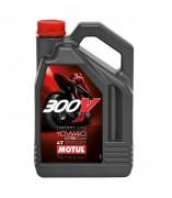 Motul Мотоциклетное моторное масло Motul 300V 4T Factory Line Road Racing 10W-40