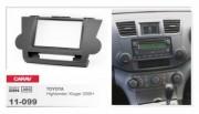 Переходная рамка Carav 11-099 Toyota Highlander, Kluger (2008+), 2 DIN