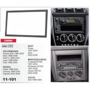 Carav Переходная рамка Carav 11-101 Skoda, Mercedes, Seat, Volkswagen, Volvo, 2 DIN