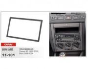 Переходная рамка Carav 11-101 Volkswagen Bora (1998 - 2006), Passat B5 (1996 - 2005), Golf IV (1998 - 2003), 2 DIN