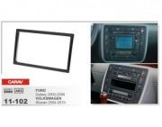 Переходная рамка Carav 11-102 Volkswagen Sharan (2004 - 2010), Ford Galaxy (2000 - 2006), 2 DIN