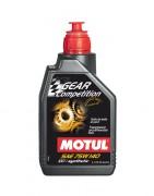 Синтетическое трансмиссионное масло Motul Gear Competition 75W-140 GL5