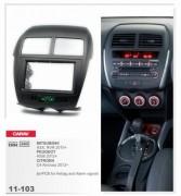 Переходная рамка Carav 11-103 Peugeot 4008 2012+ / Citroen C4 Aircross 2012+ / Mitsubishi ASX, RVR 2010+, 2 Din