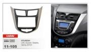 Переходная рамка Carav 11-105 Hyundai i25, Accent, Verna 2010+, 2 DIN