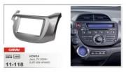 Переходная рамка Carav 11-118 Honda Fit, Jazz 2008+, 2 DIN