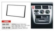 Carav Переходная рамка Carav 11-119 Honda Accord, Civic, CR-V, HR-V, Prelude, Odyssey, 2 DIN