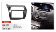 Carav Переходная рамка Carav 11-120 Honda Civic 5D 2006+, 2 DIN