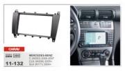 Переходная рамка Carav 11-132 Mercedes-Benz C (W203) (2005 - 2007), CLK (W209) (2005+), SLK (R171) (2004+), 2 DIN