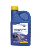 Синтетическое трансмиссионное масло North Sea Autogear Power SYN 75w-85 GL-5 (1л)