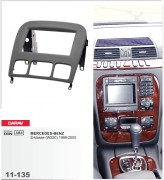 Переходная рамка Carav 11-135 Mercedes S-class W220 (1998 - 2005), 2 DIN