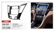 Переходная рамка Carav 11-139 Hyundai Sonata YF 2010+ (Luxury Type), 2 DIN