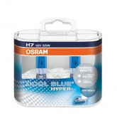 Комплект ламп Osram COOL BLUE HYPER+ OS 62210 CBH DUOBOX (H7)