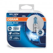 Комплект ламп Osram Cool Blue OS 64150 CBI HCB DUO (H1)