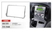 Переходная рамка Carav 11-144 Hyundai H1 Starex 2007+, 2 DIN