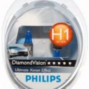 Комплект галогенних ламп Philips Diamond Vision PS 12258 DV S2 (H1)