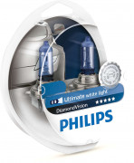 Комплект галогенных ламп Philips Diamond Vision PS 12342 DV S2 (H4)