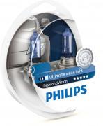 Комплект галогенных ламп Philips Diamond Vision PS 12342 DV S2 (H4)