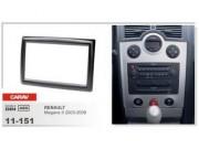 Переходная рамка Carav 11-151 Renault Megane II (2002 - 2009), 2 DIN