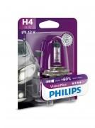 Philips Лампа галогенная Philips VisionPlus PS 12342 VP B1 (H4)
