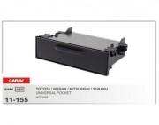 Переходная рамка Carav 11-155 Universal pocket для Mitsubishi, Toyota, Subaru, Nissan (w/cover), 1 DIN