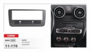 Переходная рамка Carav 11-178 Audi A1 2010+ w/pocket, 1 DIN