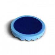 Мягкий волнистый поролоновый круг для финишного полирования Gliptone Polishing Foam Pad Blue DP0204 (150х25мм)