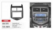 Переходная рамка Carav 11-181 Chevrolet Aveo, Sonic 2011+, Holden TL Barina 2011+, 2 DIN