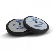 Поролоновый волнистый круг для финишного полирования Gliptone Flat Foam Pad Black (200мм)