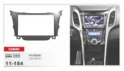 Переходная рамка Carav 11-184 Hyundai i30 2012+, 2 DIN