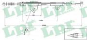 Трос стояночного (ручного) тормоза LPR C0504B