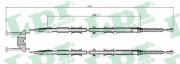 Трос стояночного (ручного) тормоза LPR C0549B