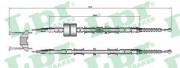 Трос стояночного (ручного) тормоза LPR C0652B