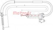 Трос стоянкового (ручного) гальма METZGER 10.4306