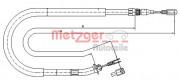 Трос стоянкового (ручного) гальма METZGER 10.9873
