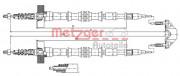 Трос стоянкового (ручного) гальма METZGER 11.5861