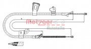 Трос стоянкового (ручного) гальма METZGER 17.1078