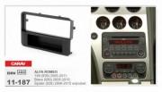 Переходная рамка Carav 11-187 Alfa Romeo 159 (939) 2005-2011, Spider (939) 2006-2010, Brera (939) 2005-2010, 1 Din