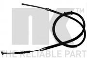 Трос стоянкового (ручного) гальма NK 902362