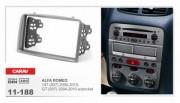 Переходная рамка Carav 11-188 Alfa Romeo GT (937) 2004-2010, 147 (937) 2000-2010, 2 Din